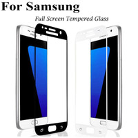 Tempered Glass Full Layar Samsung A3,A5,A7 2017 Dan J3,J5,J7 Pro 2017