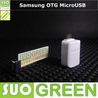 [ORIGINAL] Kabel / Konektor OTG Samsung Original MicroUSB Putih