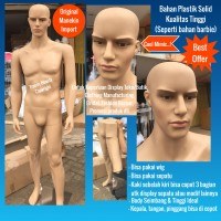 Manekin Pria Full Body Import High Quality Product