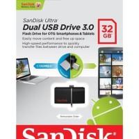 Dijual Sandisk Flashdisk Otg 32Gb Usb 3.0 | Fd Dual Drive 32 Gb Sddd2