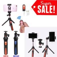 New! Benro Mefoto Mk10 Bluetooth Selfie Stick Tripod Stabilizer 3In1