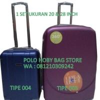Sale! Tas Koper Polo Hoby 1 Set Ukuran:20-28 Inch Unik