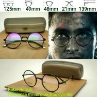 Promo Frame Kacamata Vintage Harry Potter Kacamata Minus Paket Lensa