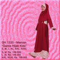 GH 1333 - Rahnem Kids /Gamis Anak Muslim/Busana muslimah murah