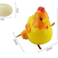 Mainan Anak - Egg Laying Chickens Ayam Bertelur Lampu Musik Telur Hen