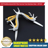HS JEEP EDC Plier Survival Tool Multifunctional StainlessSteel - MPA20