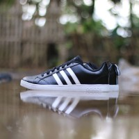 ADIDAS NEO ADVANTAGE BLACK HALF STRIP WHITE ORIGINAL 53e451c457