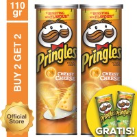 [Buy 2 Get 2 Free] Pringles CheesyCheese 110gr Free Sour Cream 110gr