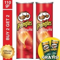 [Buy 2 Get 2 Free] Pringles Original 110gr Free Pringles Salt Seaweed