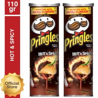 [Buy One Get One Free] Pringles Hot & Spicy 110gr