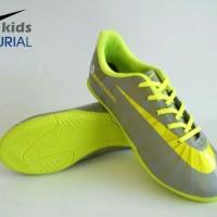 sepatu futsal untuk anak nike mercurial grey list yellow import