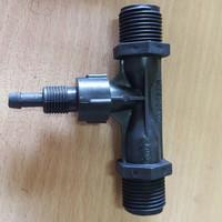 """Venturi Injektor Ozone 1/2"""" - Konektor Injector ozone 1/2inch"""