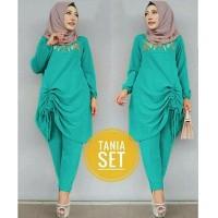 Koleksi baru!! DL050318 set hijab Tania Tosca