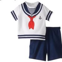 SETELAN ANAK SAILORMAN IMPORT/baju anak lelaki/setelan anak cowok