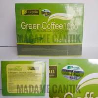 Jual Leptin Green Coffee 1000 / Kopi Pelangsing Segel Hologram Leptin Murah