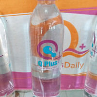 Minuman Kesehatan Alkali Q Plus Oksigen TDS Rendah Isi 450 Ml Asli