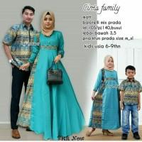 Baju Batik Coupel Cinta Family Kombinasi Batik Modern Untuk Pesta