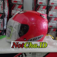 Helm Best1 Model INK Centro KW Supeer Pink Magenta/Shocking Pink