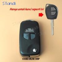 MURAH MERIAH Casing Kunci Lipat Flip Key Rumah Kunci Suzuki Ertiga Sw