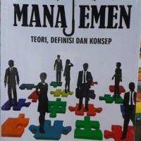 Buku Dasar-Dasar Manajemen Teori Definisi dan Konsep