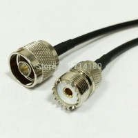 kabel pigtail n male to pl_259 female rg58 /RG142 teflo PROMO