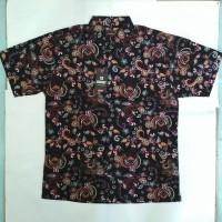 Baju Batik Katun Pria Jumbo