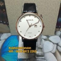 JAM TANGAN WANITA BONIA BNR101-2317 ROSE GOLD WHITE ORIGINAL MURAH