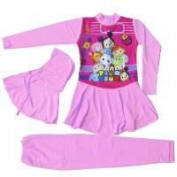 Baju Renang Anak Muslim Karakter Tsum-Tsum BRAM-K063TK