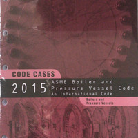 2015 ASME BPVC CC BPVC - Code Cases Boilers and Pressure Vessels Books