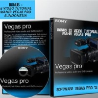Jual Dvd Tutorial Sony Vegas Pro 13.0 Bonus Video Tutor DI Jambangan