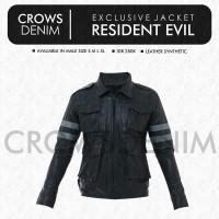 Jaket Pria | Jaket Cowok | Jaket Kulit Resident Evil | Z-06 | FC