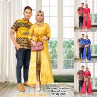 Couple Rok dan Blus Qirani Etnic,baju batik murah, baju muslim modern