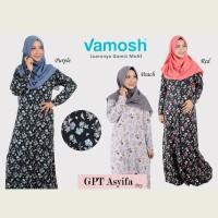Vamosh GPT Asyifa / Dress / gamis / hijab/gamis spandek /baju muslim