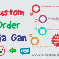 Universal led board Paket Custom / part sesuai pilihan sendiri