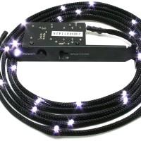 NZXT CB-LED20-WT Light Sensitivity Sleeved LED Kit White