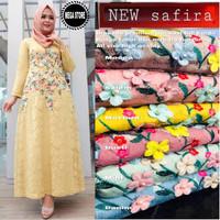 Baju Terusan Wanita Muslim Longdress New Safira