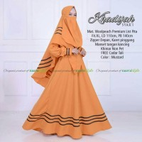 gamis dress baju muslim murah cewek muslimah syari polos cadar cantik