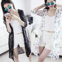 cardigan kimono blouse casual import