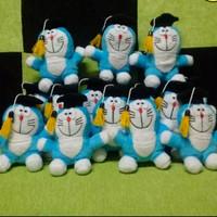 Jual Boneka Wisuda Doraemon Murah 12cm Murah