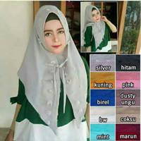 Jilbab instan 1x slup model segitiga