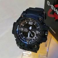 Jam tangan sport pria, G-shock double time, water resist, kw super