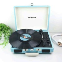 Crosley Cruiser Deluxe Portable Turntable with Bluetooth