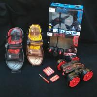 Sepatu Sandal Anak Homyped Blitz02 Warna Navy,Coklat(Berhadiah Mainan)
