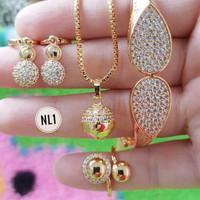 Harga 1 Set Perhiasan Xuping Hargano.com