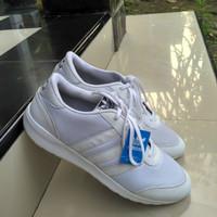 sepatu sport jumbo Adidas putih polos big size 49-43