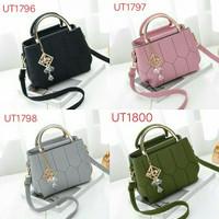 UT1796 - 1800 handbag 2 ruang, tas import bag batam/sling bag/hand bag