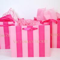 victoria secret paper bag / gift bag / tas / bungkus kado