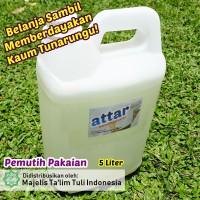 Pemutih Pakaian ATTAR / Bleach Laundry 5 Liter