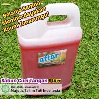 Sabun Cuci Tangan ATTAR - Strawberry Hand Soap 5 Liter