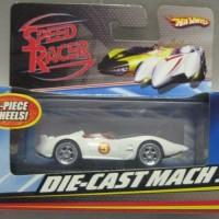DIE CAST MACH 5 ( Hot Wheels ) SPEED RACER SERIES